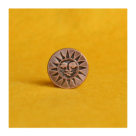 Sun Pin Badge